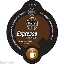 Tully's - ESPRESSO ROAST - Vue Cups for Keurig Coffee Brewers