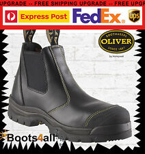 Oliver (Honeywell) Steel-Toe 55227 Black Safety. Brand New! *All Sizes