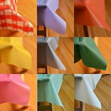 """54"""" x 108"""" Rectangle Plastic Table Cover Table Cloth Multiple Colors! Durable"""