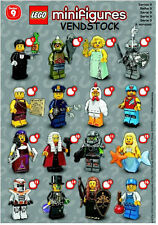 LEGO 71000 SERIES 9 MINIFIGURES BRAND NEW PICK THE FIGURE YOU WANT! VENDSTOCK
