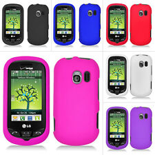 Colorful Rubberized Hard Case Cover For LG Extravert VN271 Verizon Accessory