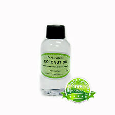 100% Pure Fractionated Coconut Oil Organic 2, 4oz 8oz 12, 16oz 32oz up to gallon