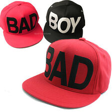 New BAD Cotton Snapback Hat KPOP Men Women Street Fashion Baseball Hiphop Cap