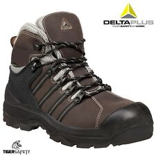 Delta Plus Panoply LH657CM S3 Brown Waterproof Mens Safety Toe Cap Work Boots