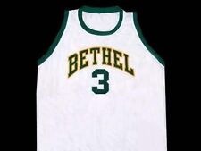 ALLEN IVERSON BETHEL HIGH SCHOOL WHITE JERSEY NEW ANY SIZE XS - 5XL