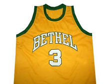 ALLEN IVERSON BETHEL HIGH SCHOOL JERSEY YELLOW NEW ANY SIZE XS - 5XL