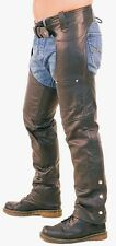 GENUINE LEATHER CHAPS  Biker Most Sizes Available