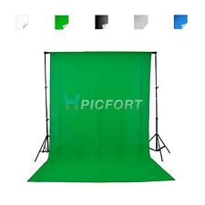 Studio 1.8x2.8m Green 100% Cotton Muslin Chromakey background 5 colors optional
