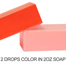 Apple Red Liquid Color Dye (use in MP Soap, Lotions, bath salts and fizzies)