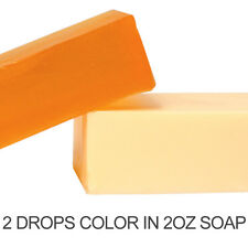 Sunflower Orange Liquid Color Dye (in MP Soap, Lotions, bath salts and fizzies)
