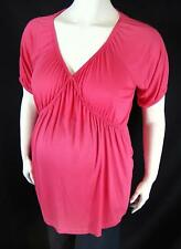 New Maternity / Plus Size Breastfeeding Nursing Tshirt Top UK 14 16 18 20 22 24