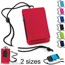 Mobile Smart Cell Phone Carrier Case Holder Belt Clip Strap Card Pouch - 2 Sizes