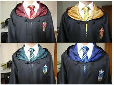 The New Harry Potter Robe Cloak Of Gryffindor/Slytherin/Hufflepuff And Ravenclaw