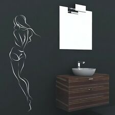 Sexy Figure Wall Art Decal, Sexy Wall Decor, Sexy Girl Wall Stickers - PD143