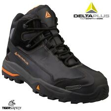 Delta Plus Panoply TW400 S3 Black Leather Safety Trainer Boots Composite Toe Cap