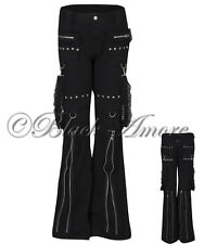 GOTHIC TROUSERS JEANS STEAMPUNK CHAIN LACE JAWBREAKER LIVING DEAD SOULS GOTH NEW