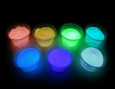 Brightest available Strontium Aluminate, Glow-in-the-Dark Powder, Half-Ounce