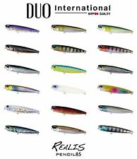 DUO Realis Pencil 85 Topwater Lure - Select Color(s)