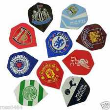 Football Dart Flight Selection 1, 3 or 12 Darts Flights Birthday Christmas Gift