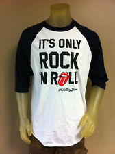 The Rolling Stones Mens Raglan TShirt It's Only Rock N Roll NWT Free Shipping