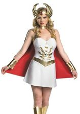 Adult Sexy Sassy Master of the Universe SHE-RA COSTUME Dress * M 8-10,  L 12-14