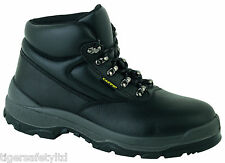 Capps LH811 S2 SRC Black Mens Safety Boots Steel Toe Cap Work Boot Footwear PPE