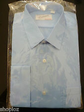 Mens Environne Sizes 15 - 18 Long Sleeve Business Corporate Work Shirt Bnwt