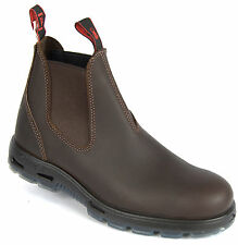 REDBACK Work Boots UNPU GREAT BARRIER Style Brown Non Steel Toe W/Proof NEW