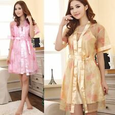 Womens Girls Sexy Nightwear Suit Lingerie Lady Nightgown Pajama Sets Night Robes