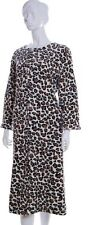 Supersoft Animal Print Zip Front Dressing Gown