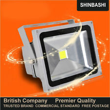 PREMIER 10w Large LED Floodlight Garden Security Flood Light Spot Down 5yr UK