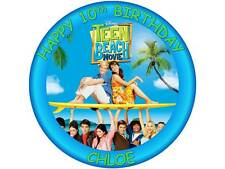 """7.5"""" TEEN BEACH MOVIE EDIBLE PERSONALISED CAKE TOPPER ON ICING OR WAFER PAPER"""
