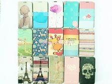 New Fashion Design Credit Card Wallet Flip Leather Cover Case For iPhone Samsung