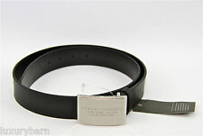 Armani Exchange A|X New York-Milan Dress Belt 100% Authentic 100% Leather New