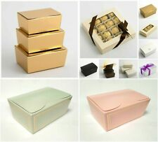 Best Quality DIY Truffle Ballotin Chocolate Boxes S M L Wedding Party Favour