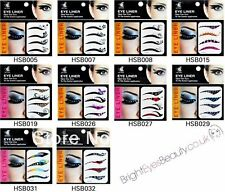 Semi Permanent Eyeliner Temporary Tattoos 10 designs Eyeshadow Art Free UK p&p