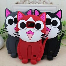3D Cheese Cat Silicone Soft Cover Phone Case For Samsung i9100 Galaxy SII S2