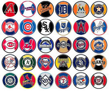 "MLB 3"" Decal Magnet  Team Logos Officially Licensed Choose from All 30 Team's"