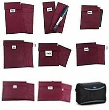 FRIO Cooling Cool Reusable Insulin Travel Wallet BURGUNDY Cartridge Carrier NEW