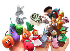 Story Telling Finger Puppets Nursery Rhyme Fairy Tale Aussie Animals
