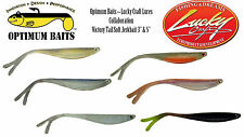 Optimum Baits/Lucky Craft Lures Victory Tail Soft Jerkbait - Select Color/Size