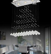Modern Crystal Ceiling Light Pendant Lamp Lighting Parlour Chandelier DIY Lights