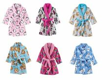 NEW Dora/Hello Kitty/Disney Minnie Mouse Bath Robe - Toddler Girls 2T 3T 4T