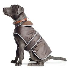 Ancol Muddy Paws Chocolate Waterproof Stormguard Dog Coat - All Sizes