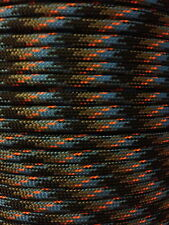 Survival Camo 550 Paracord Mil Spec Type III 7 strand parachute cord 10-100ft
