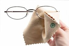Chamois Leather Glasses Cleaning Cloth Sunglasses Spectacle Cleaner New BNWT