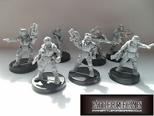28 mm Em4 Miniatures - 40k alternativas Necromunda Confrontation-Copplestone