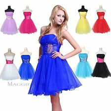 Maggie Tang Short Homecoming Evening Formal Prom Ball Gown Wedding Party Dress