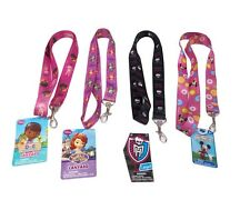 """Disney Doc McStuffins Minnie Mouse Monster High Sofia The First Girl 18"""" Lanyard"""
