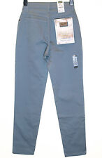 Bnwt Authentic Women's Wrangler Lucy Stretch Jeans Comfort Fit Straight Leg Blue